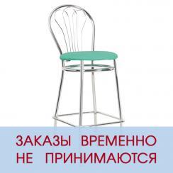 Высокий барный стул Венус Хром